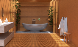 Une salle de bains origin...
