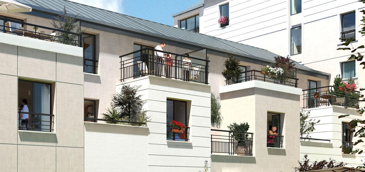 appartement neuf t5 la garenne colombes saint lazare 5 pi ces 92250 r f 1052. Black Bedroom Furniture Sets. Home Design Ideas