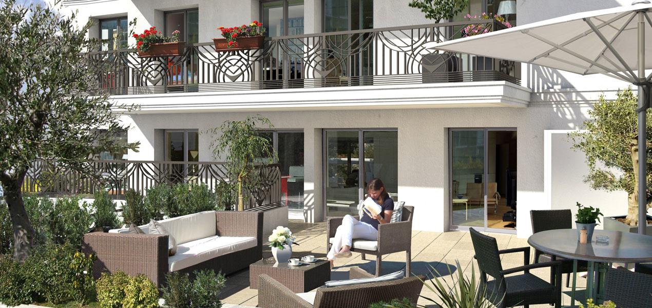 Appartement neuf t4 levallois perret centre ville 4 for Appartement de ville