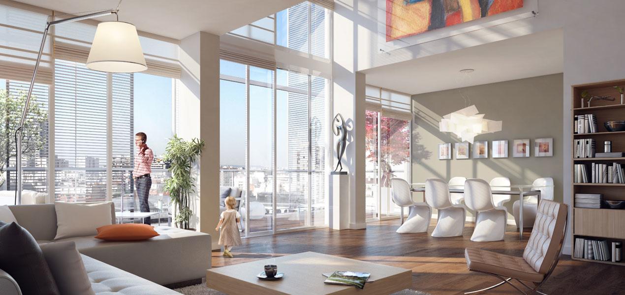 Environnement appartement de luxe t1 paris 14 porte de vanves 1 pi ces 75014 r f - Appartement de luxe ando studio ...