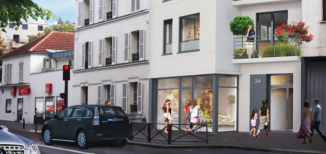 Paris 20 - Gambetta/Saint-Fargeau