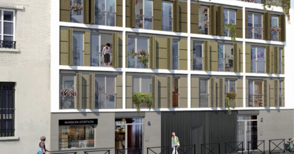 Paris 20 - Quartier Charonne (75020)