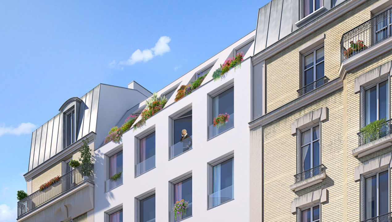 Appartement neuf t1 paris 14 petit montrouge 1 pi ces - Nid rouge lincroyable appartement paris ...