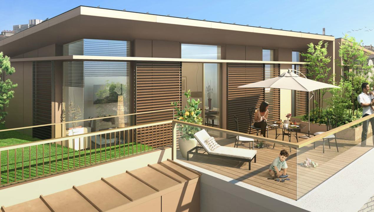 Environnement appartement de luxe t1 paris 15 co for Appartement luxe