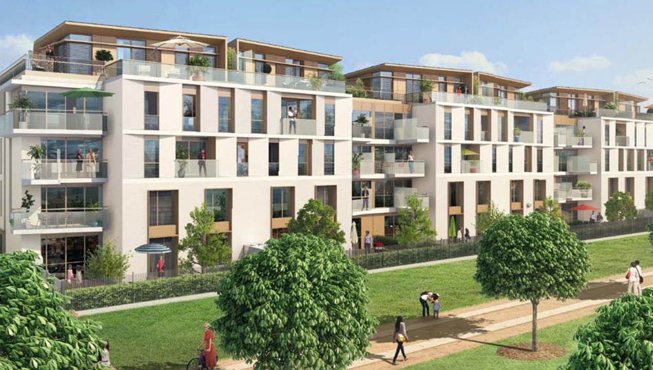 Appartement neuf t1 paris 15 co quartier boucicaut 1 - Appartement de luxe studio schicketanz ...