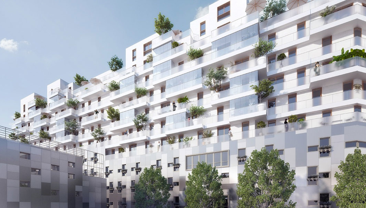 Appartement neuf t1 paris 15 village 1 pi ces - Appartement de luxe studio schicketanz ...