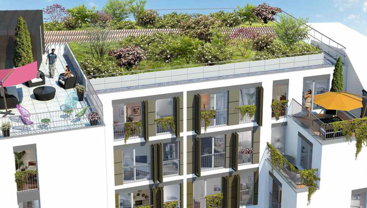 Appartement neuf t1 paris 20 quartier charonne 1 - Appartement de luxe studio schicketanz ...