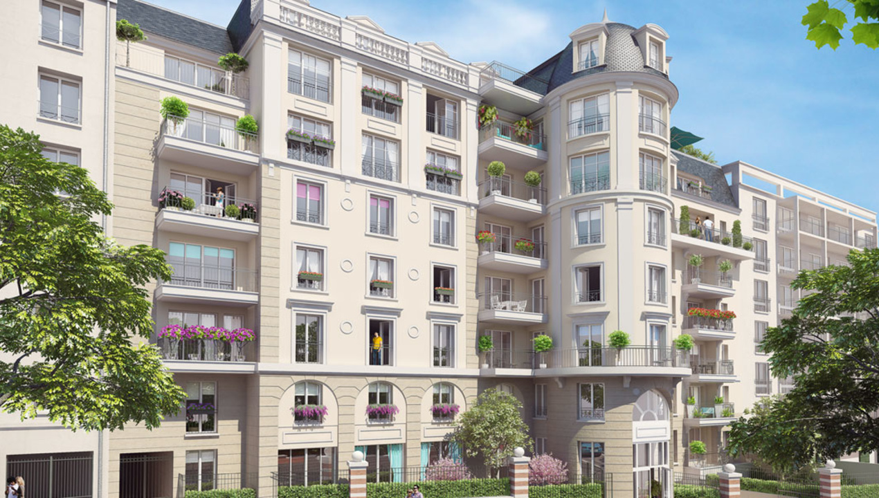 Appartement neuf t3 puteaux centre 3 pi ces 92800 for Appartement t3 neuf