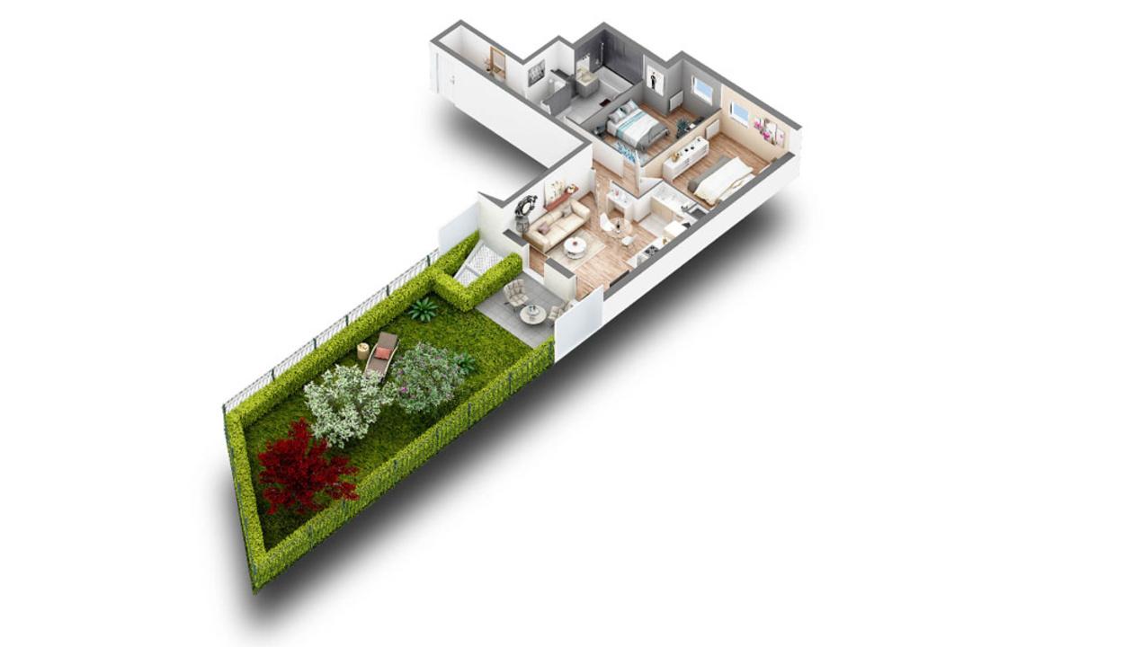 Appartement neuf t3 issy les moulineaux bas meudon 3 for Achat maison issy les moulineaux