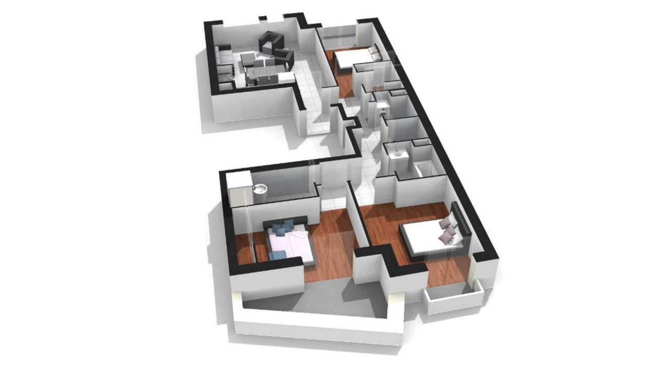 Plan Appartement De Luxe : Appartement neuf t à paris gambetta saint fargeau
