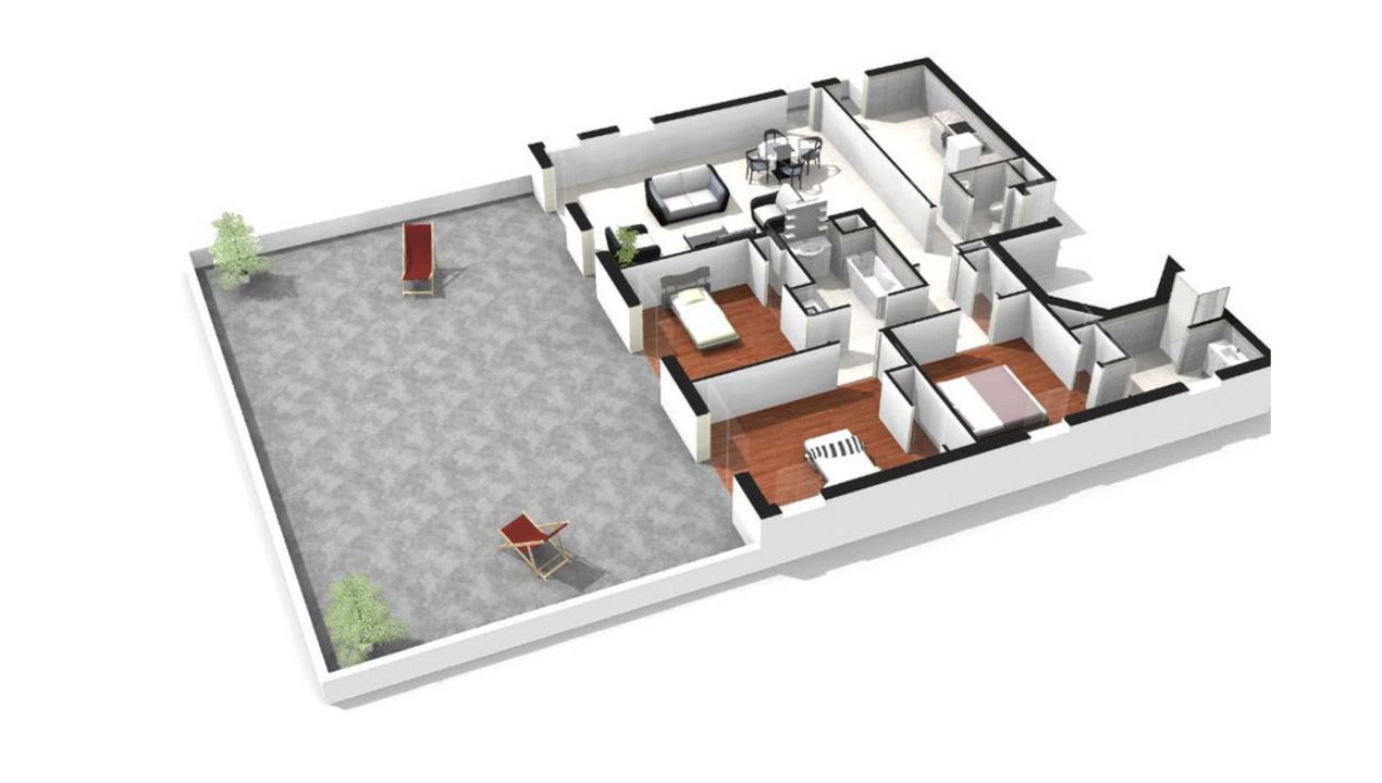 Plan Appartement De Luxe : Appartement neuf t à saint mandé bois de vincennes