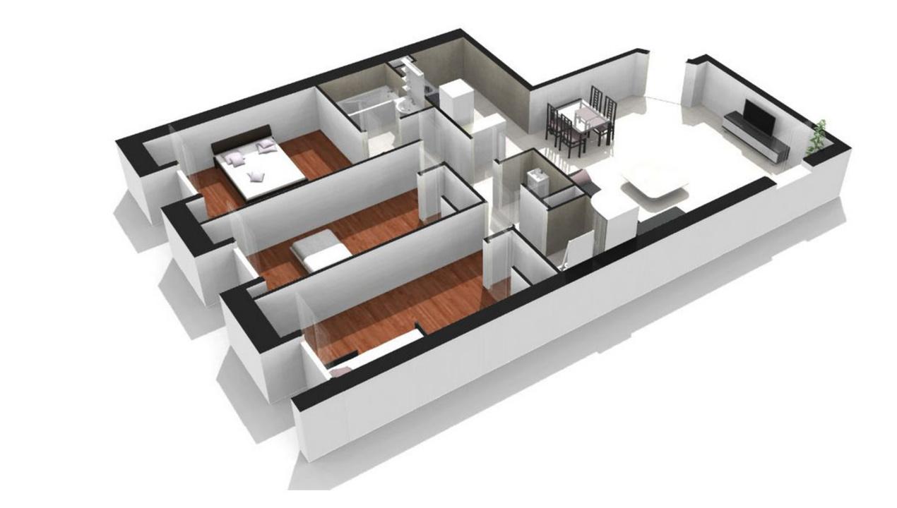 Plan Appartement De Luxe : Appartement neuf t à versailles jardins de l orangerie