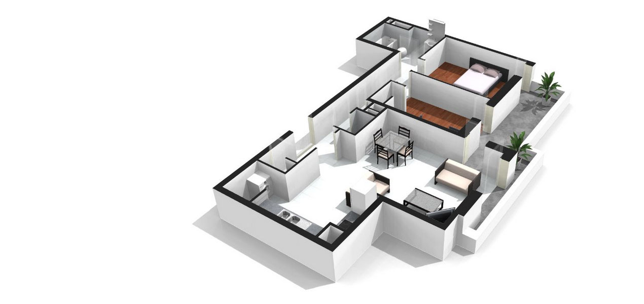 plan appartement 77m2