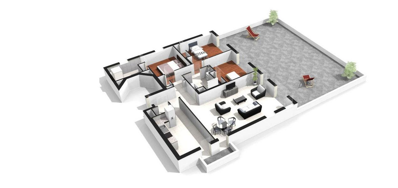 appartement neuf t4 paris 14 plaisance 4 pices 75014 rf 1085 mdicis prestige
